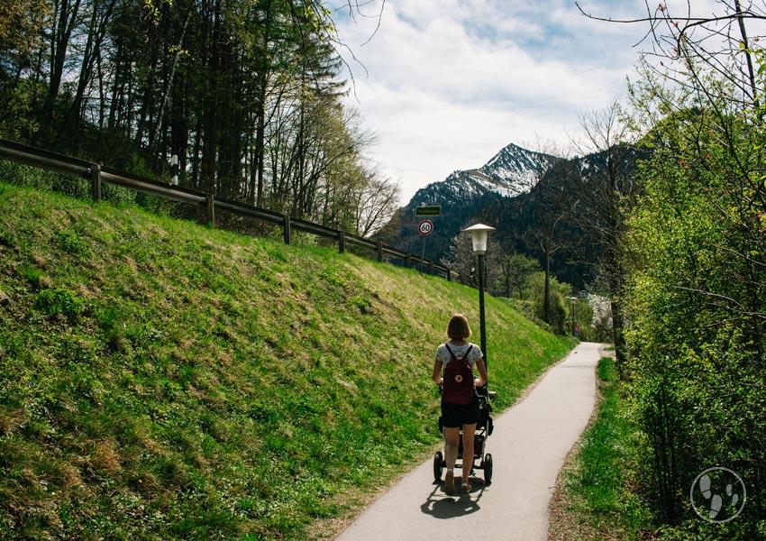 Schliersee wandern mit Kinderwagen