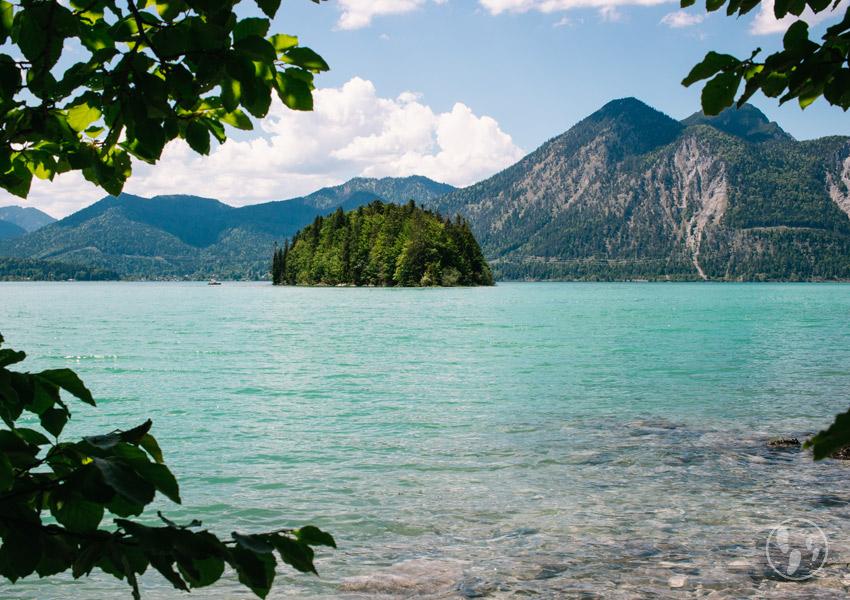 Seen in Oberbayern_Walchensee