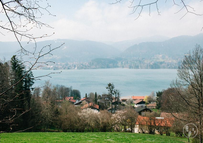 Der Tegernsee gehört zu den schönsten Seen in Oberbaxern.