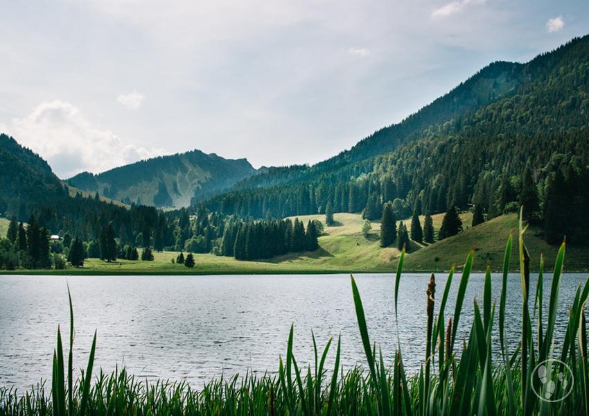 Der Spitzingsee gehört zu den schönsten Seen in Oberbayern