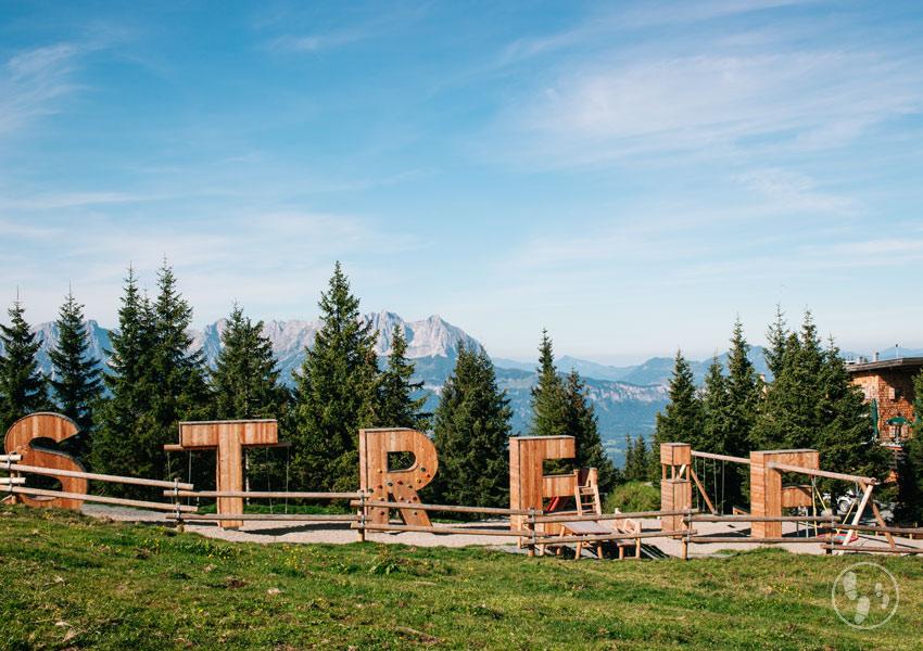 Kinderwagenwanderung in Kitzbühel: Streif Panoramaweg