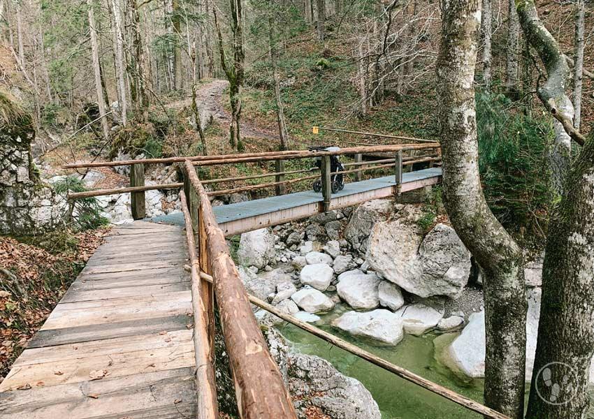 Brücke über die Große Laine