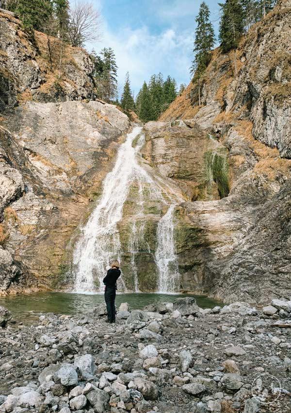 Glasbachwasserfall in der Jachenau