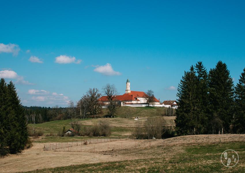 Rundwanderweg Sachsenkam Kloster Reutberg