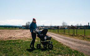 Durch den Teufelsgraben Holzkirchen mit Kinderwagen