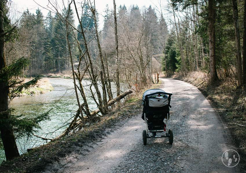 Kinderwagenwanderung im Mangfalltal