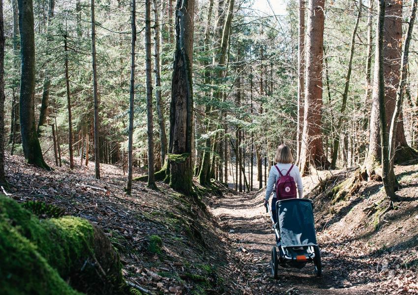 Kinderwagenwanderung bei Holzkirchen_ Teufelsgraben