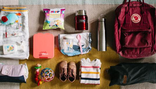 Packliste Wandern mit Baby