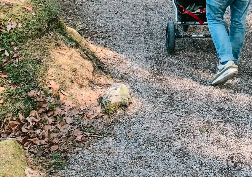 Rundwanderweg um den Eibsee mit Kinderwagen
