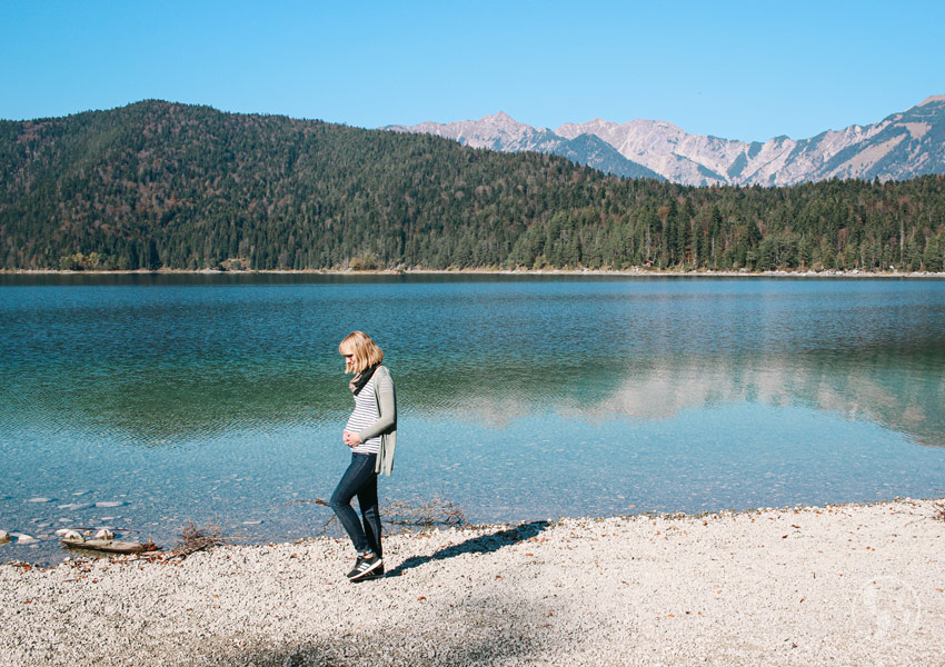 Wandern um den Eibsee