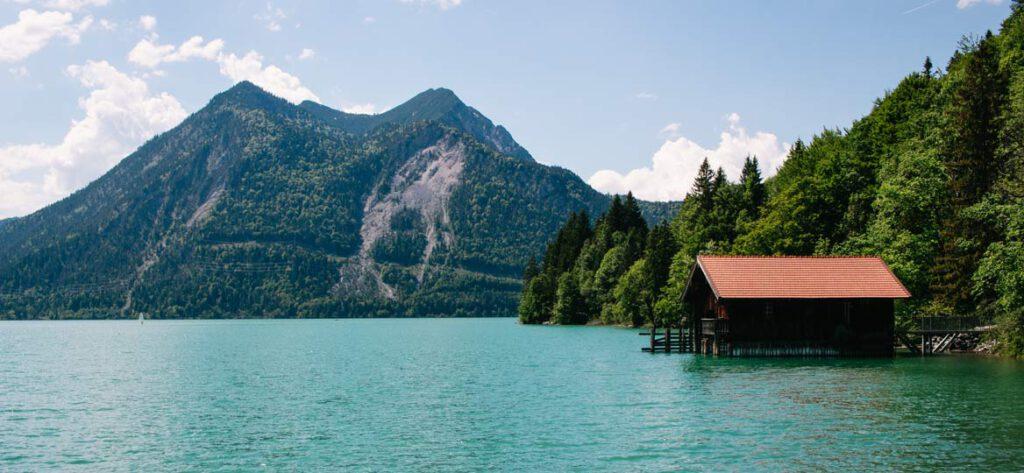 Der Walchensee - einer der schönsten seen in oberbayern