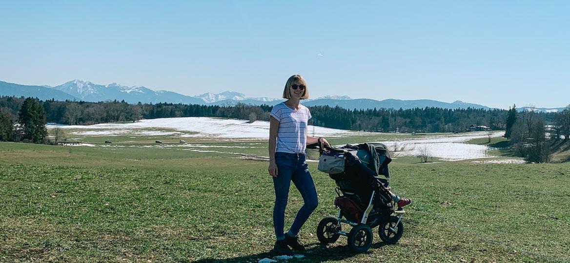 Kinderwagenwanderung Asberg Kleinhartpenning Großhartpenning