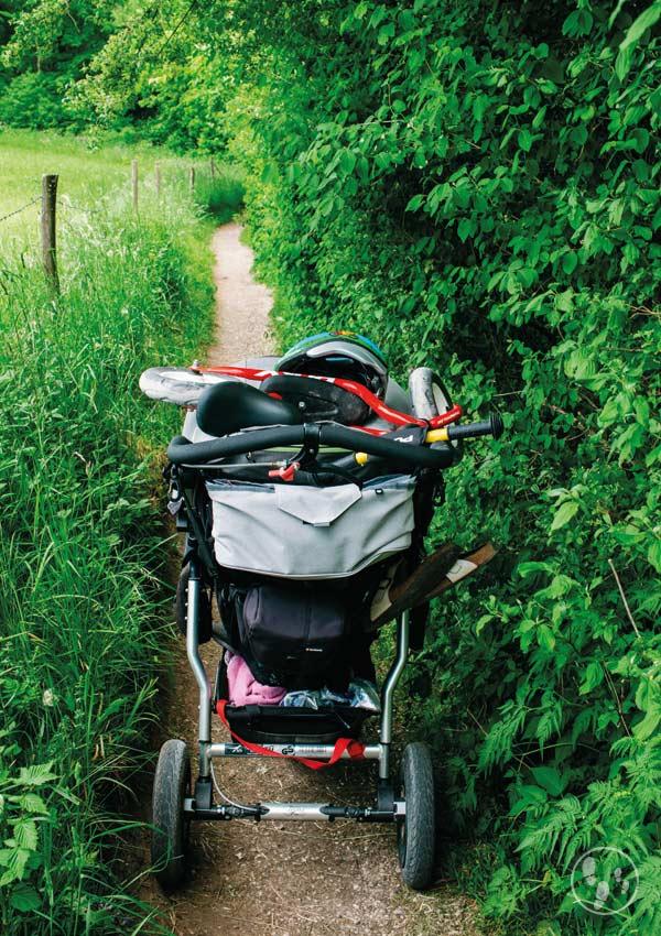 Rundwanderung Riegsee mit Kinderwagen