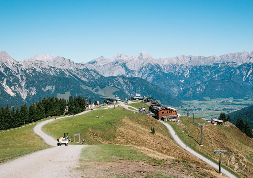 Bergstation der Asitzbahn Leogang