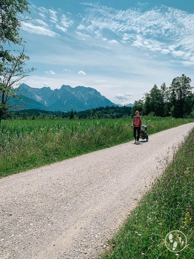 Rundwanderweg Barmsee mit Kinderwagen