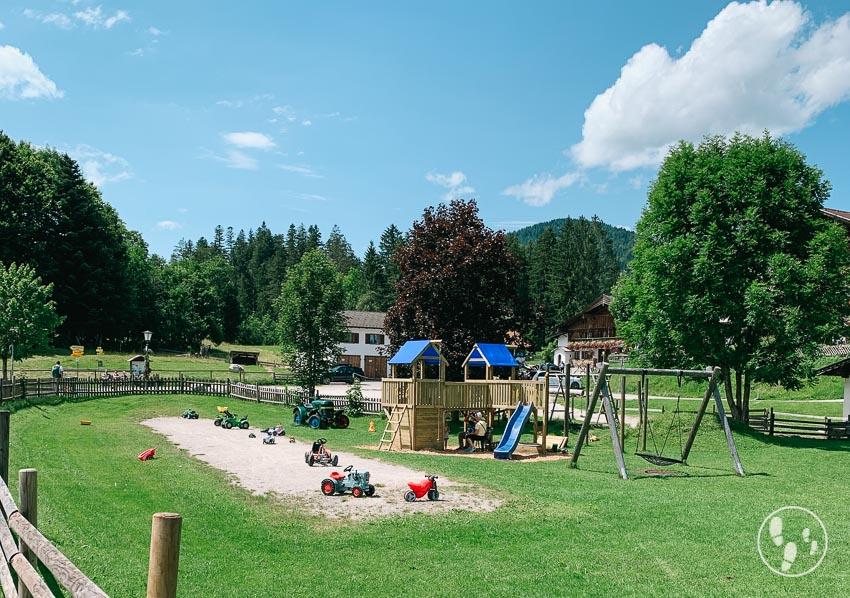 Spielplatz am Alpengasthof Barmsee