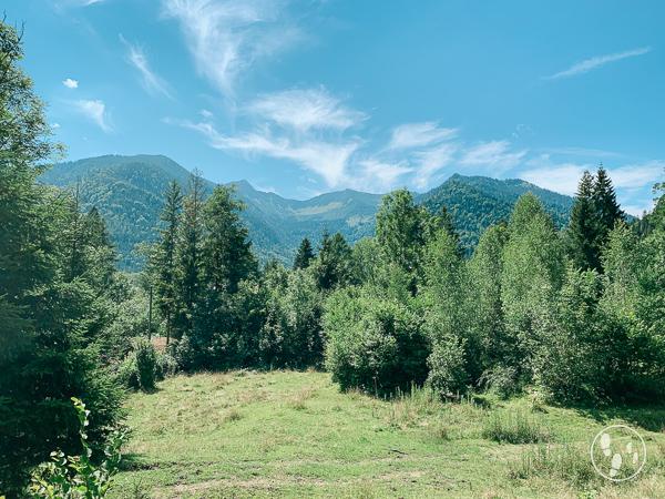 Aussicht auf die Fischbachauer Bergwelt